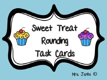 Sweet Treat Rounding Task Cards