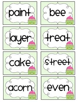 Sweet Treat Spelling