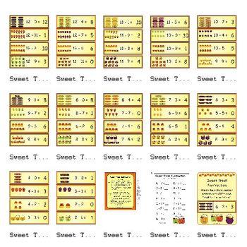 Sweet Treat Subtraction (1.OA.1, K.OA.2, K.OA.5)