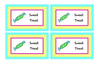 Sweet Treat Tickets
