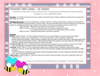 Sweet Treat! Valentine's Day Math Rotations