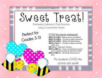 Sweet Treat! Valentine's Day Math Rotations
