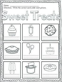 Sweet Treat Vocabulary Words