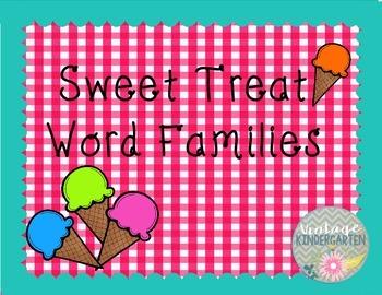 Sweet Treat Word Families