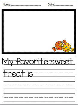 Sweet Treat Writing