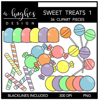 Sweet Treats 1 {Graphics for Commercial Use}