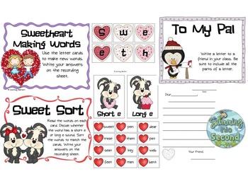 Sweet Treats (10 literacy centers)