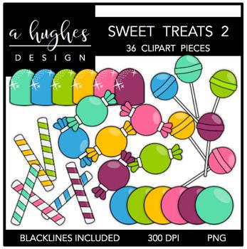 Sweet Treats 2 Clipart {A Hughes Design}