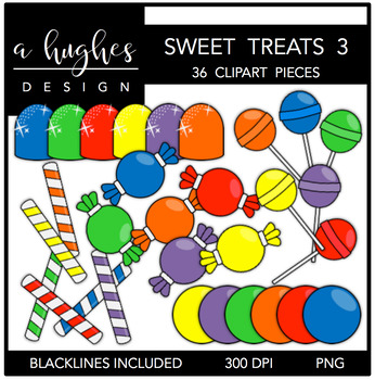 Sweet Treats 3 {Graphics for Commercial Use}
