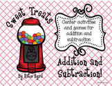 Sweet Treats Addition and Subtraction - Hands ON Math Centers for Common Core