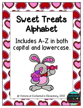 Sweet Treats Alphabet! Letter and Sound Recognition Game