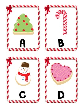 Sweet Treats Alphabet Scavenger Hunt: Upper and Lowercase Letters