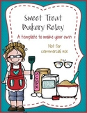 Sweet Treats Bakery Relay! template - Personal Use Only!
