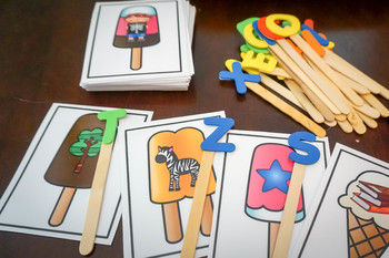 Sweet Treats:  Beginning Letter Sounds