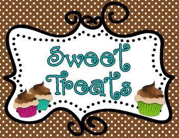 Sweet Treats Behavior Management: Polka Dots
