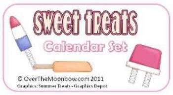 Sweet Treats Calendar Set