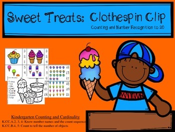 Sweet Treats: Counting and Number ID to 20