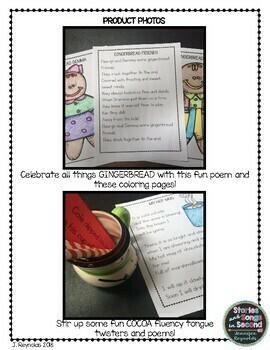 Sweet Treats-December Fluency Fun