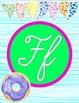 Sweet Treats Decor Cursive Alphabet