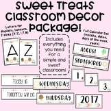 Sweet Treats Decor Set! (Ice cream, popsicles, donuts, cup