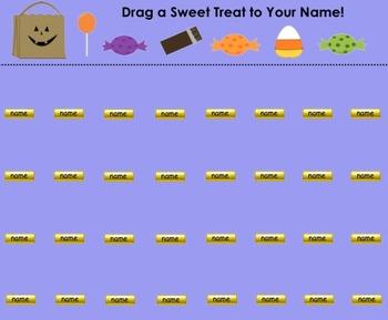 """""""Sweet Treats"""" Halloween & Candy Themed SMART Board Attend"""