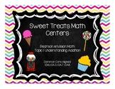 Sweet Treats Math Centers-Pearson enVision First Grade Math