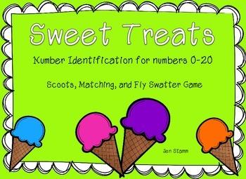 Sweet Treats Number Identification
