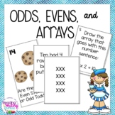 Odds, Evens, and Arrays - Addresses Common Core Standards