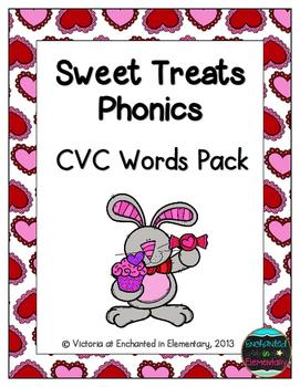 Sweet Treats Phonics: CVC Words Pack