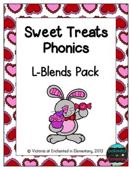 Sweet Treats Phonics: L-Blends Pack