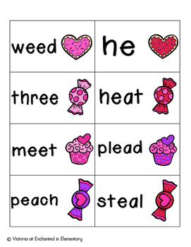 Sweet Treats Phonics: Long E Pack