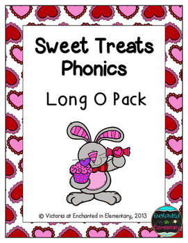 Sweet Treats Phonics: Long O Pack