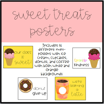 Sweet Treats Posters