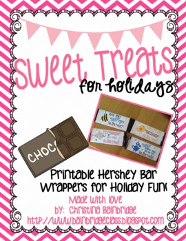 photograph regarding Printable Hershey Bar Wrappers named Lovable Snacks- Printable Sweet Bar Wrappers for the Holiday seasons!