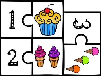 Sweet Treats: Puzzles to 20