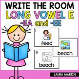 Write the Room-Long Vowel E-EA, EE