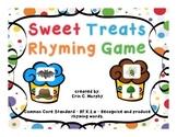 Sweet Treats Rhyming Game