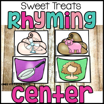 Sweet Treats: Rhyming Words Hands on Center