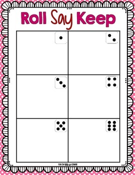 Sweet Treats Roll Say Keep: Editable Alphabet, CVC & Sight Word Fun (CC Aligned)