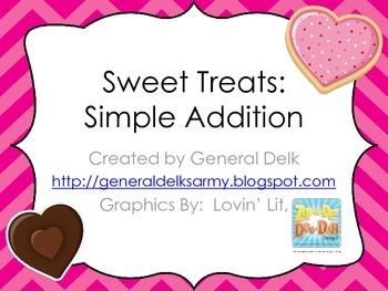 Sweet Treats- Simple Addition