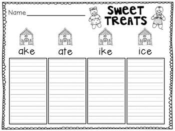 Sweet Treats Sort