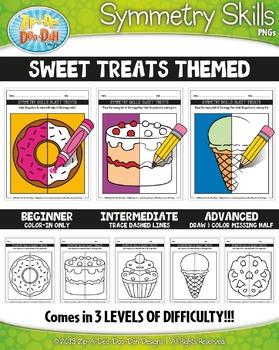 Sweet Treats Symmetry Skill Activity Pack {Zip-A-Dee-Doo-Dah Designs}