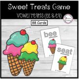 Sweet Treats- Vowel Teams Game (ee & ea)