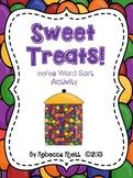 Sweet Treats!  ee ea word sort