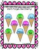 Sweet Treats for Articulation- Ice Cream Artic Activities