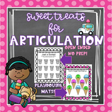 Sweet Treats for Articulation- Ice Cream Artic Activities
