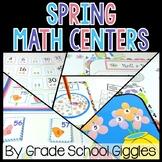 #SPRINGSAVINGS Math Centers - Kindergarten, 1st Grade, 2nd Grade