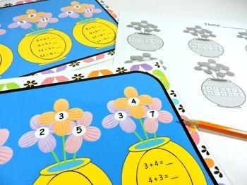 Math Centers - Kindergarten, 1st Grade, 2nd Grade