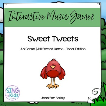 Interactive Tonal Pattern Game: Sweet Tweets {Dorian Edition}