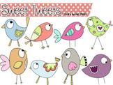 Sweet Tweets:  Bird Clip Art